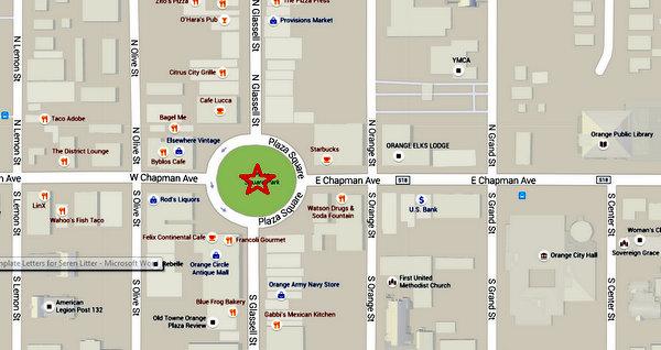 Orange Circle Detail